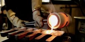 realizzazione lingotti oro